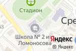 Схема проезда до компании Среднеахтубинская средняя общеобразовательная школа №2 им. М.Ломоносова в Средней Ахтубе