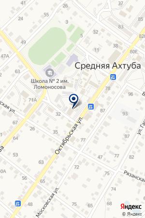 Покупочка на карте Средней Ахтубы