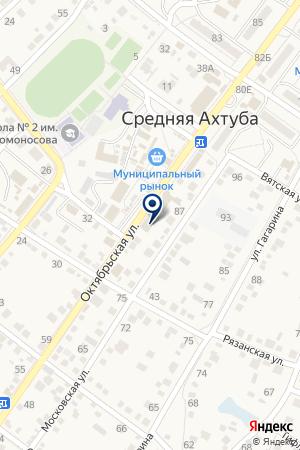 Ломбард Первый на карте Средней Ахтубы