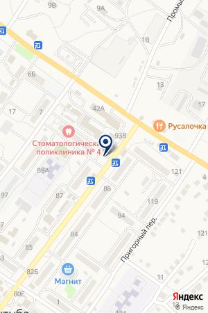 Вов-Ан на карте Средней Ахтубы