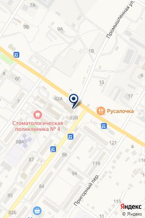 Радеж на карте Средней Ахтубы