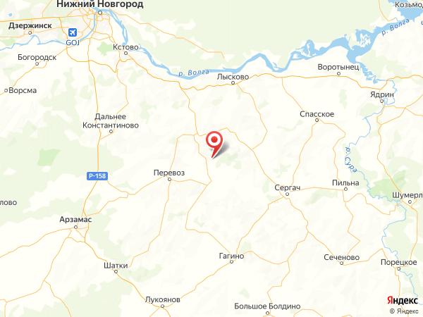 село Картмазово на карте