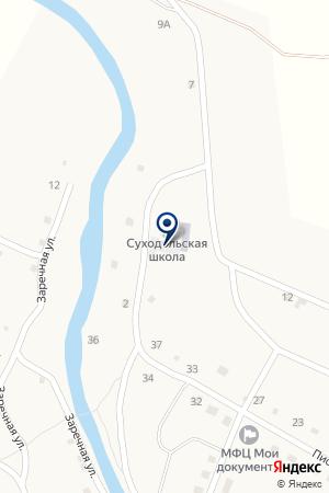 Суходольская средняя общеобразовательная школа на карте Шумроватого