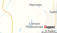 Отели города Кроптово на карте