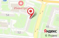 Схема проезда до компании Ципа в Иваново