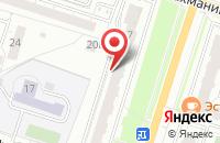 Схема проезда до компании Типография 1 в Пензе