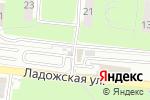Схема проезда до компании СТО на Ладожской в Пензе