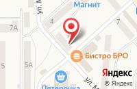 Схема проезда до компании Reset в Рузаевке