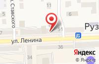 Схема проезда до компании Экзотика в Рузаевке