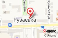 Схема проезда до компании Администрация Рузаевского муниципального района в Рузаевке