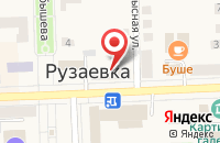 Схема проезда до компании Союз в Рузаевке