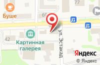 Схема проезда до компании Мир обоев в Рузаевке