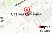 Схема проезда до компании ПЛЕМЗАВОД ДЕРТЕВСКИЙ в Каменке