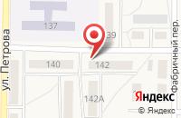 Схема проезда до компании Лакшми в Рузаевке