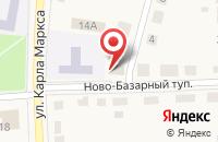 Схема проезда до компании ЗАГС Рузаевского района в Рузаевке