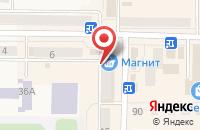 Схема проезда до компании ДНС в Рузаевке