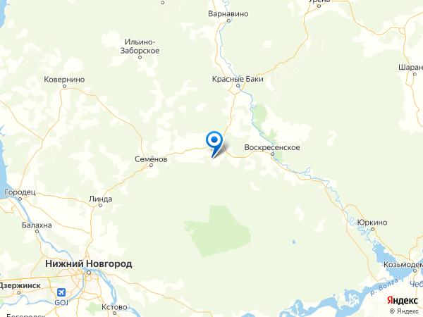 деревня Топан на карте