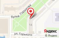 Схема проезда до компании Qiwi в Рузаевке