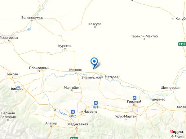 хутор Советский на карте