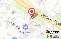 Схема проезда до компании Рост в Кировске