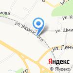 Московский университет им. С.Ю. Витте на карте Пензы