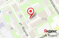 Схема проезда до компании ПЛКСистемы в Пензе