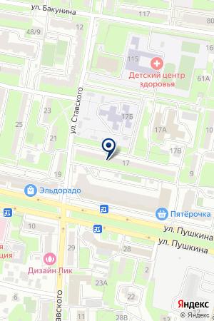 АИС на карте Пензы