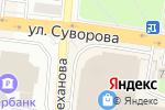 Схема проезда до компании Пироговая в Заречном