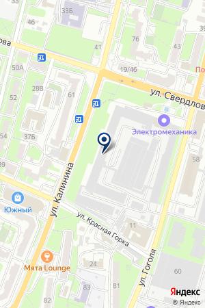 АГРО - 1 на карте Пензы