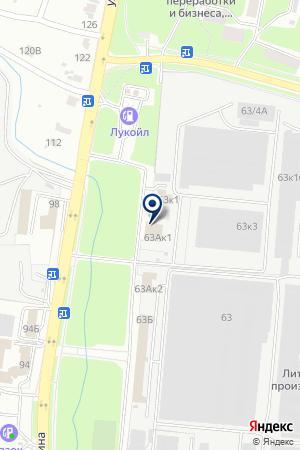 АГРОСТРОЙТОРГ на карте Пензы