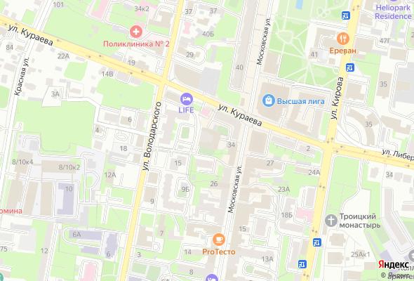 жилой комплекс по ул. Московская, 36