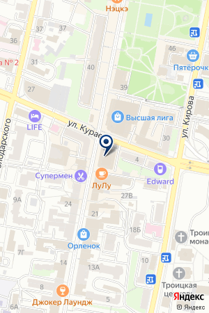 1001ТУР на карте Пензы
