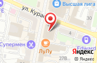 Схема проезда до компании Стеклопром в Пензе