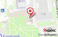 Схема проезда до компании Почта России в Пензе