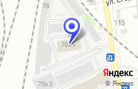Схема проезда до компании МАГАЗИН ХОЗТОВАРОВ ПЕНЗА-РОСХОЗТОРГ в Пензе