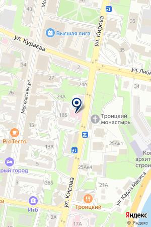 АЛЬБА-ДЕНТ на карте Пензы