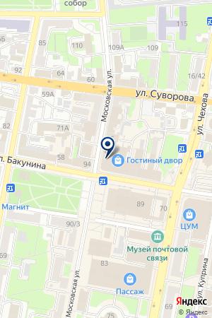 АГЕНТСТВО СОБЫТИЙ YOGURT EVENT на карте Пензы