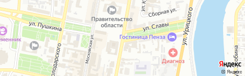 город Пенза, улица Гагарина, 11а