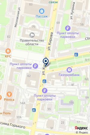 PROДВИЖЕНИЕ на карте Пензы