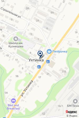 QIWI на карте Ухтинки