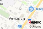 Схема проезда до компании Шарм в Ухтинке