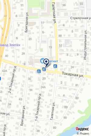 КАС на карте Пензы
