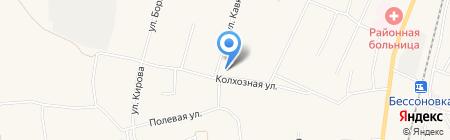 Полянка на карте Бессоновки