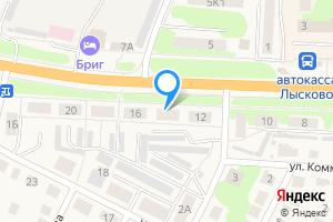 Сдается двухкомнатная квартира в Лысково Казанская улица, 14