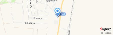 Сура-Волга на карте Бессоновки