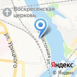 Пензенская объединенно-техническая школа ДОСААФ России на карте Пензы