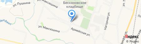 Старт на карте Бессоновки