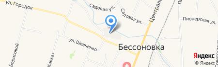 Уголовно-исполнительная инспекция УФСИН России по Пензенской области на карте Бессоновки