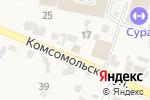 Схема проезда до компании Ростехинвентаризация-Федеральное БТИ в Бессоновке