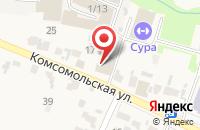Схема проезда до компании ТНС Энерго в Бессоновке
